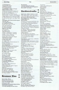Seite 118, Detailansicht für Sonntag den 18.8.2013, Ausgabe 33, 12.8.2013-18.8.2013