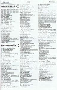 Seite 119, Detailansicht für Sonntag den 18.8.2013, Ausgabe 33, 12.8.2013-18.8.2013