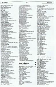 Seite 127, Detailansicht für Sonntag den 18.8.2013, Ausgabe 33, 12.8.2013-18.8.2013