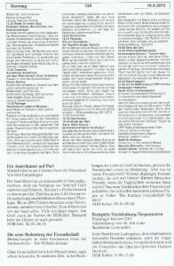 Seite 130, Detailansicht für Sonntag den 18.8.2013, Ausgabe 33, 12.8.2013-18.8.2013