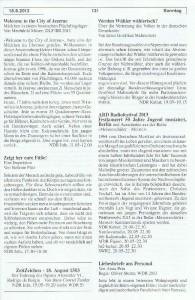 Seite 131, Detailansicht für Sonntag den 18.8.2013, Ausgabe 33, 12.8.2013-18.8.2013