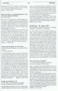 Seite 135, Detailansicht für Sonntag den 18.8.2013, Ausgabe 33, 12.8.2013-18.8.2013