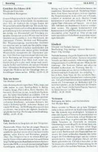 Seite 138, Detailansicht für Sonntag den 18.8.2013, Ausgabe 33, 12.8.2013-18.8.2013