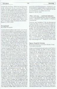 Seite 141, Detailansicht für Sonntag den 18.8.2013, Ausgabe 33, 12.8.2013-18.8.2013