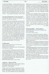 Seite 144, Detailansicht für Sonntag den 18.8.2013, Ausgabe 33, 12.8.2013-18.8.2013